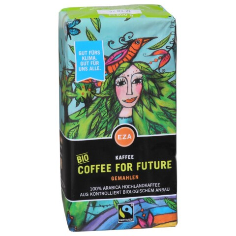 Coffee for future gemahlen 500 g